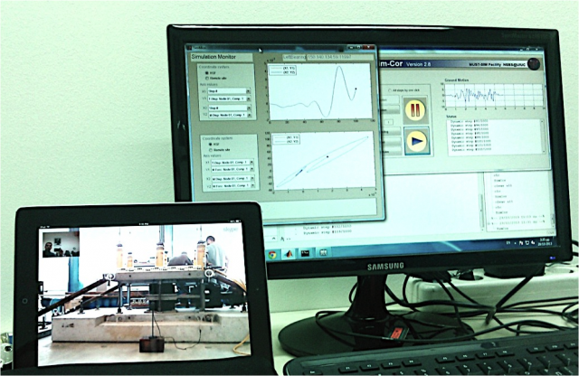 Hybrid testing at the Structures Laboratory and the University of Thessaloniki